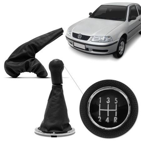 Kit-Coifa-Cambio-Freio-de-Mao-Gol-Parati-Saveiro-G3-Couro-connectparts