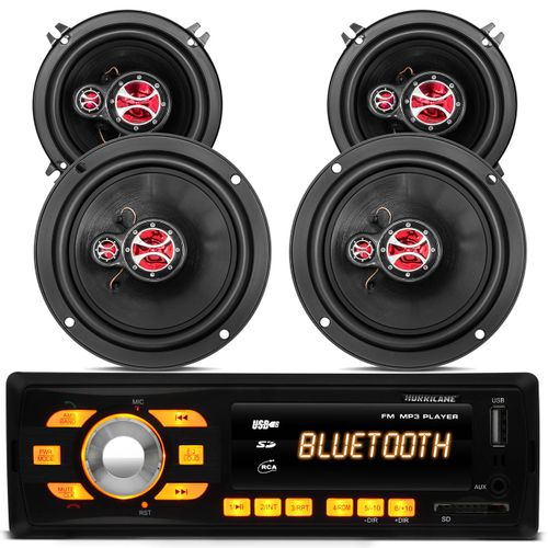 Mp3-Player-Hurricane-Hr-414-Bluetooth-Usb---Kit-Falante-Triaxial-Foxer-6-e-5-Polegadas-200W-Palio-connect-parts--1-