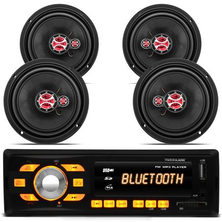 Mp3-Player-Hurricane-Hr-414-Bluetooth-Usb---Kit-Alto-Falante-Triaxial-Foxer-6-Polegadas-180W-Fox-connect-parts--1-