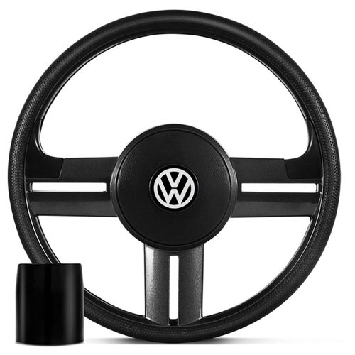 Volante-Rallye-Slim-Grafite---Cubo-Gol-Saveiro-Passat-Fusca-Parati-Connect-Parts--1-