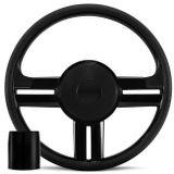 Volante-Esportivo-Rallye-Slim-Preto-Com-Acionador-de-Buzina---Cubo-Escort-Escort-Hobby-Apolo-87-a-97-Connect-Parts--1-
