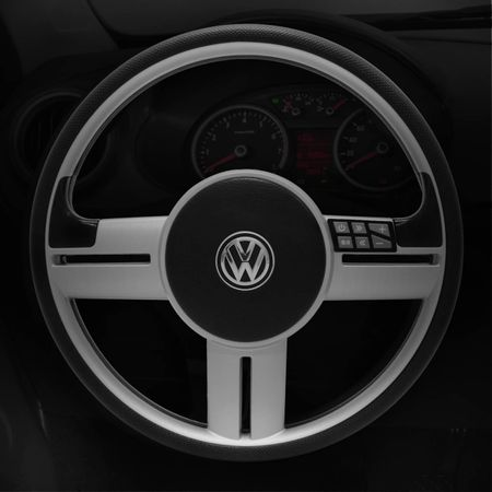 Volante-Rallye-R-Line-Prata-Comando-de-Som---Cubo-Gol-Saveiro-Santana-Parati-94-a-12---Emblema-VW-connect-parts--1-