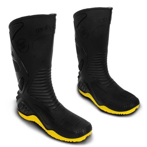 Bota-Motociclista-Impermeavel-Motoboy-PVC-Motosafe-Preta-Amarelo-connectparts--1-