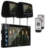 DVD-Player-Pioneer-AVH-298BT-2-Din-Bluetooth---Par-Tela-de-Encosto-Slim-7-Pol-Preto-Connect-Parts--1-