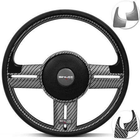 Volante-Rally-Fibra-De-Carbono-Apliques-Preto-Prata-Fibra-connectparts--1-