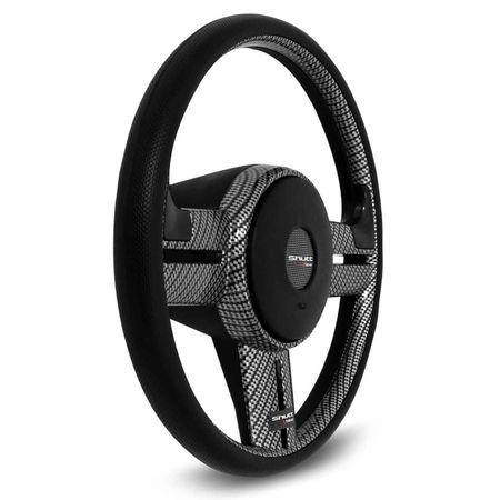 Volante-Rally-Fibra-De-Carbono-Apliques-Preto-Prata-Fibra-connectparts--3-