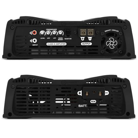 Modulo-Taramps-Dsp3000-3000w-Rms-1-Canal-2-Ohms---Cabo-Rca-Audiophonic-5-Blindado-connect-parts--1-