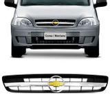 Grade-Dianteira-Corsa-Hatch-Sedan-Montana-03-04-05-06-07-08-09-10-Tuning-Filete-Cromado-Emblema-Connect-Parts--1-