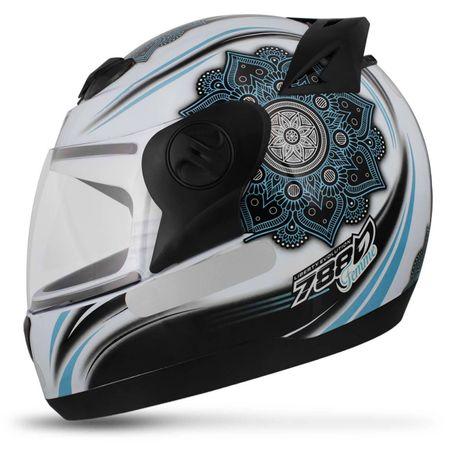 Capacete-Fechado-Pro-Tork-Evolution-G5-Femme-Branco-Preto-Azul-Brilhante-connectparts--1-
