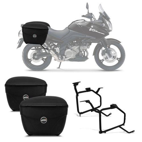 Bauleto-Moto-Suzuki-DL-650-Vstrom-Givi-Cruiser-21-Litros-Suporte-Lateral-connectparts--1-