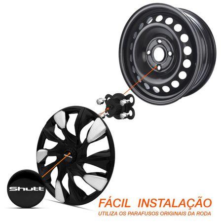 Calota-Esportiva-DS5-Black-Silver-Aro-13-Encaixe-Preta-e-Prata-Universal-Connect-Parts--4-