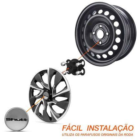 Calota-Esportiva-Aro-14-DS4-Sport-Cup-Universal-Grafite-e-Prata-Modelo-Tuning--1-