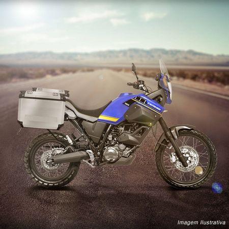 Bauleto-Moto-XT660-Z-Tenere-11-a-16-Givi-Trekker-Outback-Prata-37-Litros---Suporte-Connect-Parts--1-