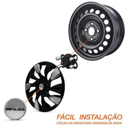 Calota-Esportiva-DS5-Black-Silver-Aro-15-Universal-Encaixe-Preta-Prata-Connect-Parts--4-