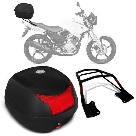 Bau-Bauleto-Moto-Yamaha-YBR-125-Factor-08-a-16-Givi-Monolock-29-Litros-Preto---Bagageiro-connect-parts--1-