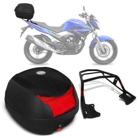 Bau-Bauleto-Moto-Yamaha-Fazer-250-05-a-16-Givi-Monolock-29-Litros-Preto---Bagageiro-connect-parts--1-