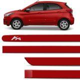 Jogo-Friso-Lateral-Personalizado-Ford-Ka-Hatch-Sedan-2014-Em-Diante-Vermelho-Arpoardor-connectparts--1-