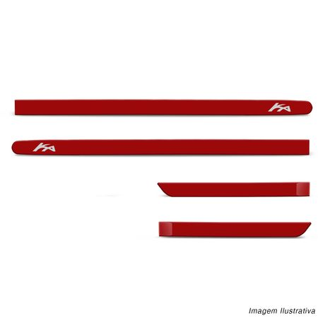 Jogo-Friso-Lateral-Personalizado-Ford-Ka-Hatch-Sedan-2014-Em-Diante-Vermelho-Arpoardor-connectparts--2-