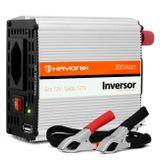 Inversor-300W-12VDC127V-1-Saida-Tomada-Padrao---1-Saida-USB-Onda-Senoidal-Modificada-connectparts--1-
