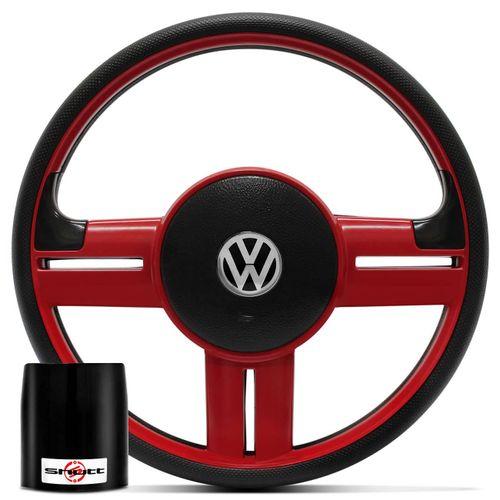 Volante-Rallye-Vermelho---Cubo-Gol-Saveiro-Voyage-G5-Jetta-Amarok-Passat-e-Outros-Linha-V-Connect-Parts--1-