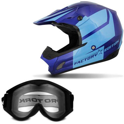 Capacete-Pro-Tork-Fechado-TH-1-Factory-Edition-Azul-Escuro-Azul-Claro---Oculos-Protecao-788-Preto-connect-parts--1-