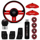 Kit-Red-black-Shutt-Volante-rallye-Super-Surf-manopla-cambio-e-freio-de-mao-pedaleira-pinca-e-anilha-Connect-Parts--1-