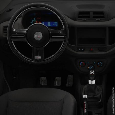 Kit-Black-Shutt-volante-rallye---pedaleira-PXR-B-Universal---Manopla-Cambio-Orbitt---freio-de-mao-connect-parts--5-