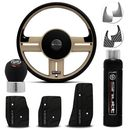 Kit-Bege-Black-Shutt-volante-rallye-super-surf-pedaleira-Manopla-Cambio-Orbitt-freio-de-mao-connect-parts--1-