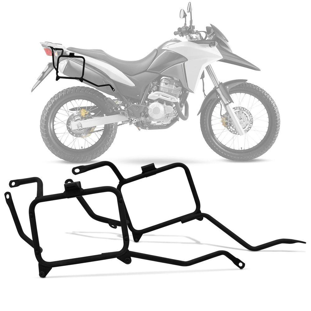 dce90299659 Bagageiro Moto Givi Honda XRE 300 10Kg Aço - Connect Parts