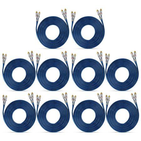 Kit-10-Cabos-Rca-Taramps-5-Metros-Cobre-Blindado-Conectores-Banhado-a-Niquel-connect-parts--1-
