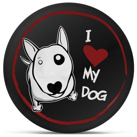 Capa-de-Estepe-Crossfox-05-a-17-I-Love-My-Dog-Preto-Branco-e-Vermelho-com-Elastico-e-Cadeado-connectparts--2-