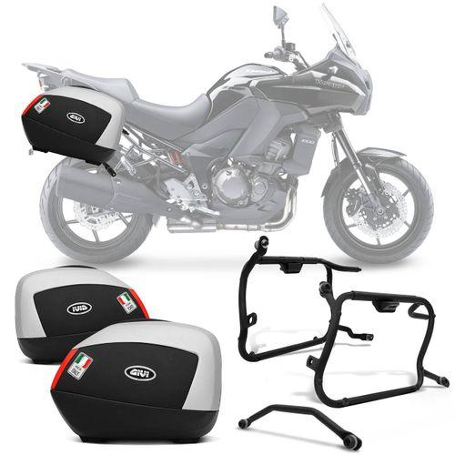 Bauleto-Moto-Kawasaki-Versys-1000-13-a-16-Givi-Monokey-V35A900-35-Litros---Suporte-connect-parts--1-
