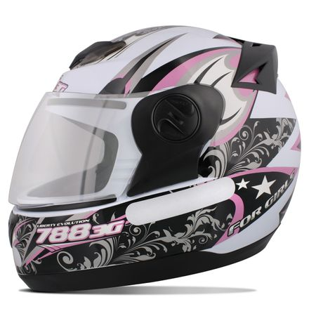 Capacete-Fechado-Pro-Tork-3G-For-Girls-Preto-e-Rosa-Connect-Parts--1-