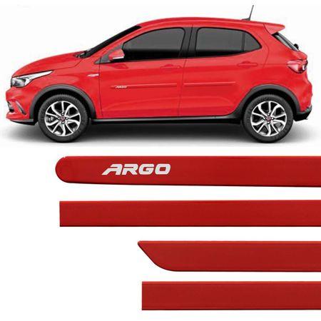 Jogo-de-Friso-Lateral-Fiat-Argo-17-e-18-Vermelho-Modena-Tipo-Borrachao-com-Grafia-Fixacao-Dupla-Face-connectparts--1-