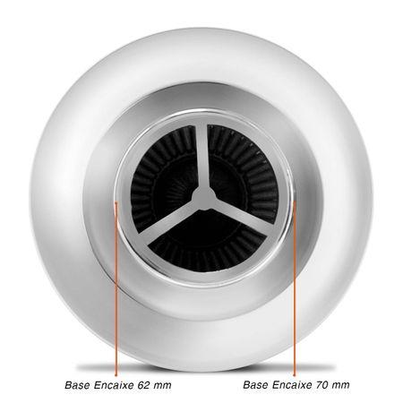 Filtro-De-Ar-Esportivo-Race-Chrome-Mono-Fluxo-Azul-Connect-Parts