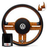 Volante-Shutt-Rallye-Madeira-GTR-Aplique-Preto-Madeira---Cubo-Gol-Fox-Golf-Polo-Linha-VW-connect-parts--1-