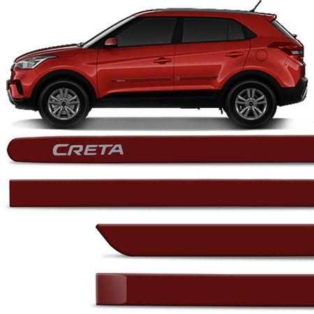 Jogo-de-Friso-Lateral-Hyundai-Creta-2017-e-2018-4-Portas-Tipo-Borrachao-Vermelho-Chilli-com-Grafia-connectparts--1-
