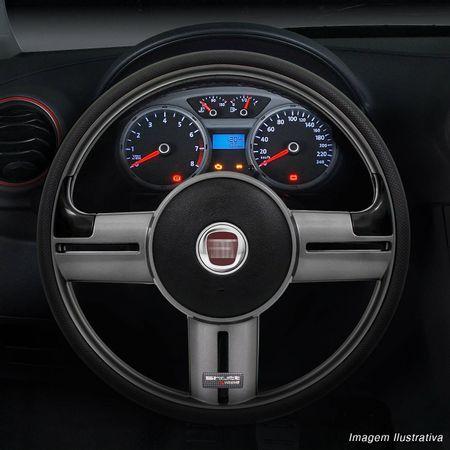 Volante-Shutt-Rallye-Grafite-Extreme-Aplique-Preto-e-Prata-Escovado---Cubo-Fiat-147-1978-a-1987-Connect-Parts--1-