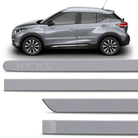 Jogo-de-Friso-Lateral-Nissan-Kicks-2017-e-2018-4-Portas-Tipo-Borrachao-Prata-Classic-com-Grafia-connectparts--1-