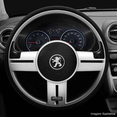 Volante-Shutt-Rallye-Prata-Xtreme-Aplique-Preto-e-Prata-Escovado---Cubo-Peugeot-206-306-207-connect-parts--1-