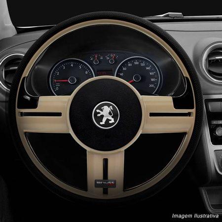 Volante-Shutt-Rallye-Bege-RS-Aplique-Preto-e-Carbono---Cubo-Peugeot-206-306-207-connect-parts--1-