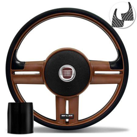 Volante-Shutt-Rallye-Whisky-GTR-Aplique-Preto-e-Carbono---Cubo-Opala-Caravan-connect-parts--1-