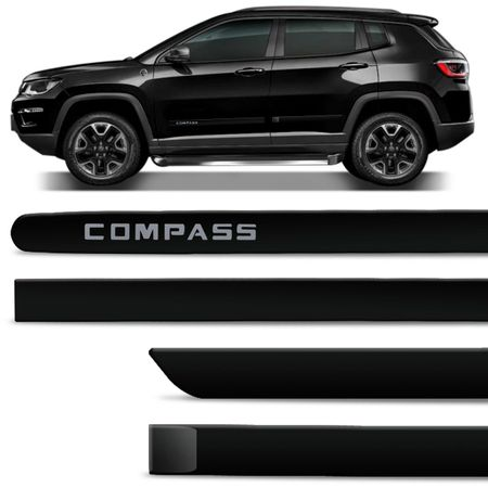 Jogo-de-Friso-Lateral-Jeep-Compass-2017-e-2018-4-Portas-Tipo-Borrachao-Preto-Shadow-com-Grafia-connectparts--1-