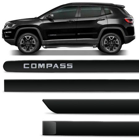 Jogo-de-Friso-Lateral-Jeep-Compass-2017-e-2018-4-Portas-Tipo-Borrachao-Preto-Carbon-com-Grafia-connectparts--1-