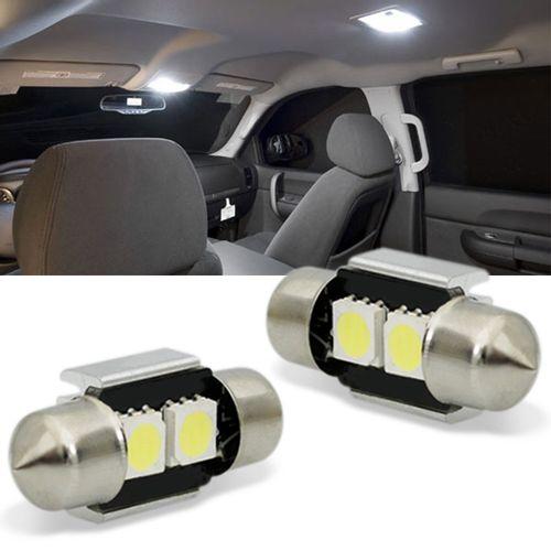 Par-Lampada-Torpedo-LED-6000K-400LM-Canbus-2-LEDs-Branco-Placa-Teto-Porta-Malas-e-Porta-Luvas-31mm-connectparts--1-