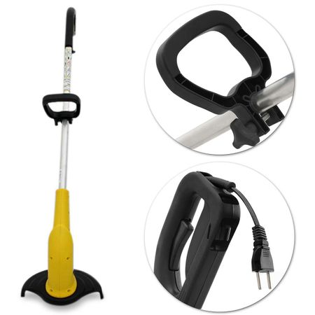 Aparador-de-Grama-Eletrico-Vonder-AG-1000-127V-1000W-Amarelo-Cortador-Com-Fio-de-Nylon-connectparts--2-