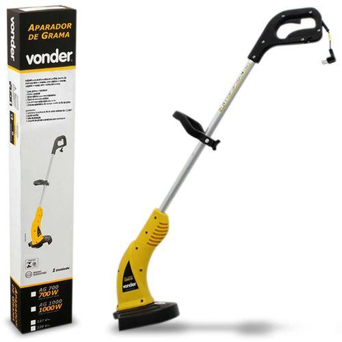 Aparador-de-Grama-Eletrico-Vonder-AG-1000-220V-1000W-Amarelo-Cortador-Com-Fio-de-Nylon-connectparts--1-