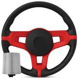 Volante-Jetta-Alemao-Vermelho-Logo-Mustang-Linha-Vw---cubo-3300-Connect-Parts--1-