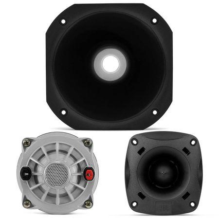 Kit-2-Tweeter-JBL-Selenium-ST200-140W---2-Driver-200W---2-Corneta-Longa-Preta-Connect-Parts--1-