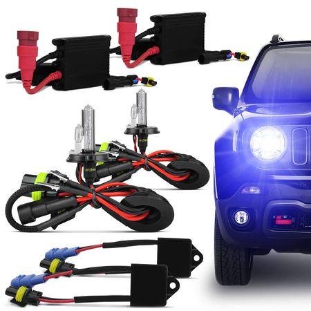 Kit-Xenon-Completo-Jeep-Renegade-H4-2-8000K---Canceller-16V--1-